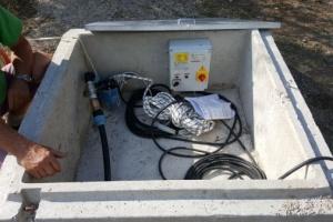 impianto sollevamento acqua con inverter ad Anghiari