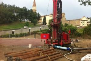 Pozzo eseguito presso la Chiesa di San Domenico